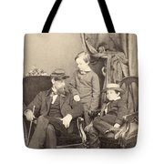 Willie & Tad Lincoln, 1862 Tote Bag