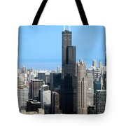 Willis Sears Tower 01 Chicago Tote Bag