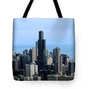 Willis Sears Tower 02 Chicago Tote Bag