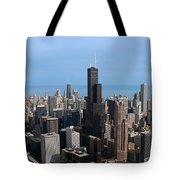 Willis Sears Tower 03 Chicago Tote Bag