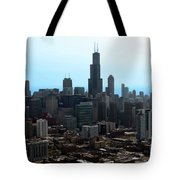 Willis Sears Tower 04 Chicago Tote Bag