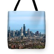 Willis Sears Tower 05 Chicago Tote Bag
