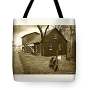 Williston Mill - Sepia Tote Bag