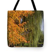 Willow In The Garden Tote Bag