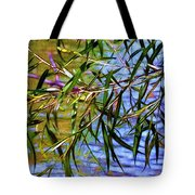 Willows At The Pond Tote Bag