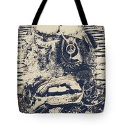 Willy The Smirk Two Tote Bag by Empty Wall