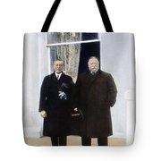 Wilson & Taft: White House Tote Bag