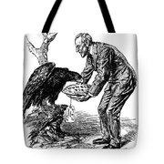 Wilson Cartoon, 1915 Tote Bag