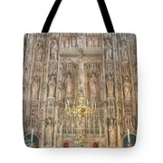 Winchester Cathedral High Altar Tote Bag