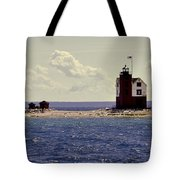 Wind At The Light  Tote Bag