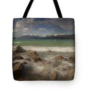 Wind Storm On Lake Pukaki Tote Bag