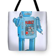 Wind-up Robot Tote Bag