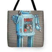 Wind-up Robot 2 Tote Bag