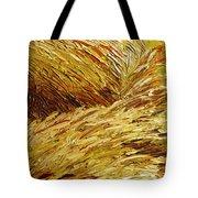 Windblown Grass Tote Bag