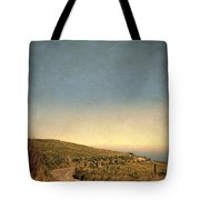 Winding Road To The Sea Tote Bag