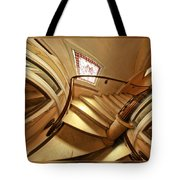 Winding Staircase Tote Bag