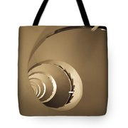 Winding Staircase, Katakolon, Greece Tote Bag