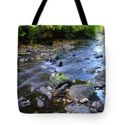 Winding Through The Gold Tote Bag