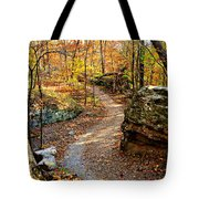 Winding Trail Tote Bag