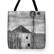 Windmill And Shack Tote Bag