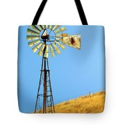 Windmill On Golden Hill Tote Bag