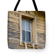Window And Hands Tote Bag