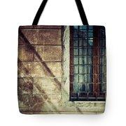Window And Long Shadows Tote Bag