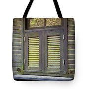 Window And Moss Tote Bag