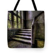 Window And Stairs Tote Bag by Nathan Wright