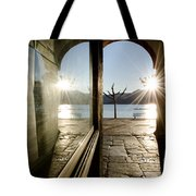 Window And Sun Tote Bag