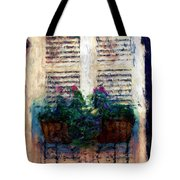 Window Box 2 Tote Bag by Donna Bentley