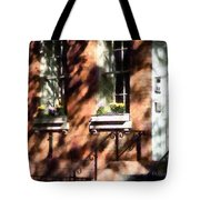 Window Boxes Greenwich Village Tote Bag