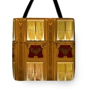 Window Candles Nostalgia Tote Bag by Christine Till