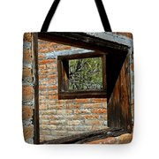 Window Geometry At Alamo Ranch Tote Bag