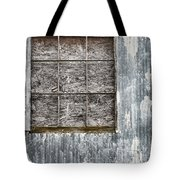 Window In Time 3 Tote Bag
