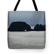 Window Rocks Tote Bag