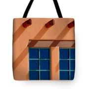 Windows Blue Tote Bag