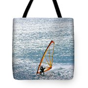 Windsurfer, Baja, Mexico Tote Bag