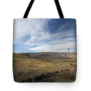 Windswept Hills Tote Bag