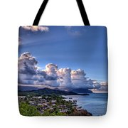 Windward Clouds Tote Bag