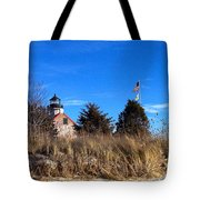 Windy Day At East Point  Tote Bag
