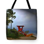 Windy Day In Haleiwa Tote Bag