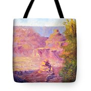 Windy Day In The Canyon Tote Bag