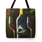 Wine And A Little More Tote Bag