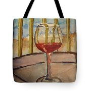Wine By The Water Tote Bag