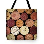 Wine Corks Tote Bag by Elena Elisseeva