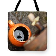 Wine Dripping Tote Bag by Gaspar Avila