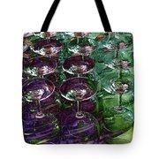 Wine Goblets Tote Bag