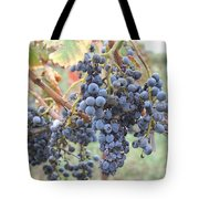 Wine Grapes In Provence Tote Bag