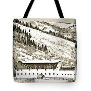 Winter Barn 1 Tote Bag